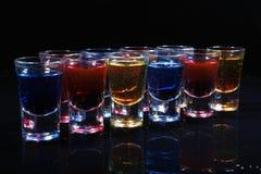 Bebida en vidrio Foto de archivo libre de regalías