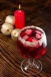 Bebida escarlata Royalty Free Stock Images