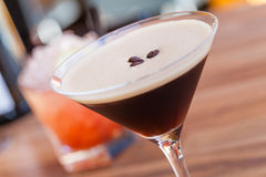 Bebida escura Imagem de Stock Royalty Free