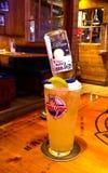 Bebida especial de Bubba Gump Foto de archivo libre de regalías