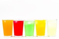 Bebida fría artificial azucarada Fotos de archivo