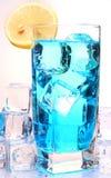 Bebida fría con la naranja Fotos de archivo libres de regalías