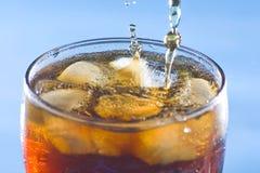 Bebida fría de la soda del refresco del chapoteo Foto de archivo libre de regalías