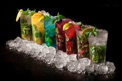 Bebida fría de Mojito fotografía de archivo libre de regalías