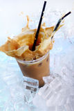 Bebida fría del café Imagen de archivo libre de regalías