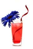 Bebida fresca da rosa foto de stock