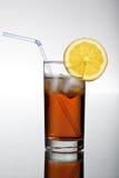 Bebida fresca del icetea imagenes de archivo