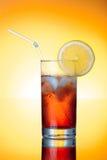 Bebida fresca del icetea Imagen de archivo libre de regalías