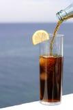 Bebida fria fotografia de stock