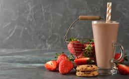 Bebida fria do chocolate foto de stock royalty free