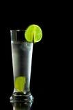 Bebida fria fresca com cal Imagens de Stock