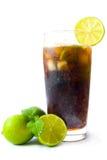 Bebida helada de la cola Imagen de archivo libre de regalías