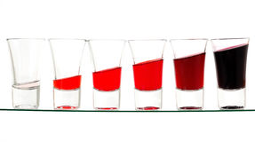 Bebida loca Imagen de archivo libre de regalías