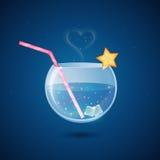 Bebida mágica del coctel Imágenes de archivo libres de regalías