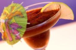 Bebida mezclada tropical Fotografía de archivo libre de regalías