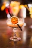 Bebida na tabela Imagens de Stock Royalty Free
