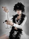 Bebida negra de la inspiración imagen de archivo