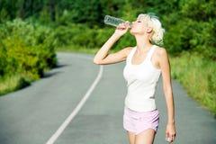 Bebida no dia quente Imagens de Stock Royalty Free