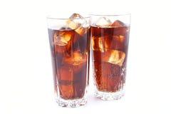 Bebida para dos fotografía de archivo