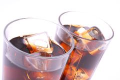 Bebida para dos fotos de archivo