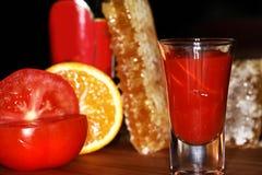 Bebida que se calienta Foto de archivo