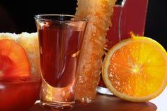 Bebida que se calienta Imagen de archivo libre de regalías