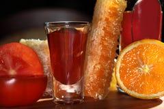 Bebida que se calienta Foto de archivo libre de regalías