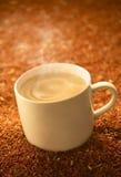 Bebida quente do cereal foto de stock royalty free
