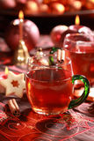 Bebida quente para o Natal Foto de Stock