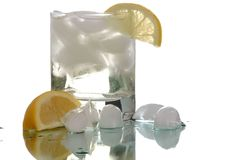 Bebida refrigerada imagens de stock