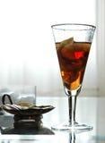 Bebida roja Imagen de archivo