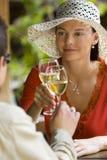 Bebida romántica Foto de archivo