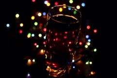 Bebida romântica do feriado foto de stock royalty free