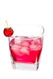 Bebida rosada Fotografía de archivo
