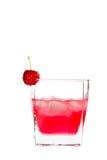 Bebida rosada Fotografía de archivo libre de regalías