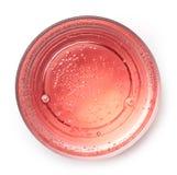 Bebida rosada de la soda imagen de archivo libre de regalías
