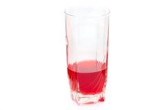 Bebida saboroso vermelha fotografia de stock royalty free
