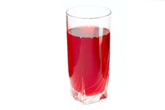 Bebida saboroso vermelha imagens de stock royalty free