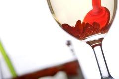 Bebida sana de la baya del goji fotografía de archivo libre de regalías