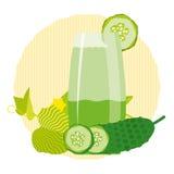 Bebida saudável da desintoxicação Fotos de Stock