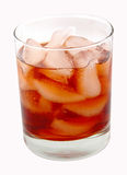 Bebida - trajeto de grampeamento imagens de stock