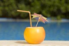 Bebida tropical del pomelo Imágenes de archivo libres de regalías