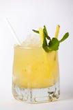 Bebida tropical do cocktail com gelo e hortelã Imagens de Stock