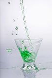 Bebida verde foto de stock