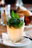 Bebida verde Fotografia de Stock