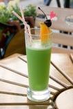 Bebida verde Fotografía de archivo libre de regalías