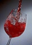 Bebida vermelha Foto de Stock Royalty Free