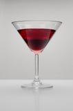 Bebida vermelha Fotografia de Stock Royalty Free