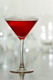 Bebida vermelha da cereja imagem de stock royalty free