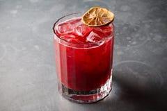 Bebida vermelha da limonada Foto de Stock